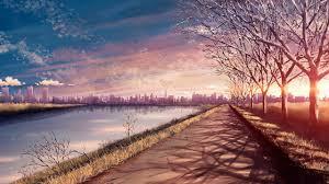 anime scenery hd wallpaper 1280x720 id 44973 wallpapervortex com