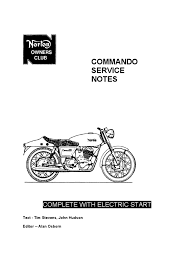 norton 750cc service notes bearing mechanical