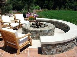 Fire Pit Lava Rock by Outdoor Fire Pit Ideas Australia Build Outdoor Fire Pit Bench