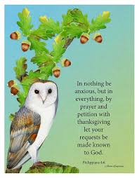 be anxious for nothing let your requests be made known to god phil 4 6