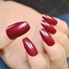 online get cheap brown acrylic nails aliexpress com alibaba group