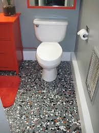 vintage pebble floor tile launches tex s gray black orange and