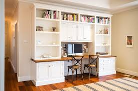 desk rug desk with bookshelves above home office traditional with built in