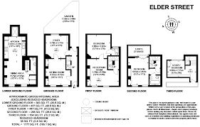 bishopsgate residences floor plan 3 bed terraced house for sale in elder street spitalfields e1