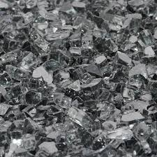 Fire Pit Crystals by Gunmetal Gray Fireglass Fire Glass Fireplace Fire Pit Firepit
