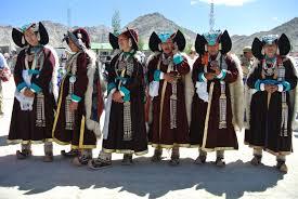 ladakh clothing local fashion ethnic jewelry of ladakh