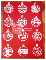 Christmas Decorations For Commercial Use by Paper Cutting Template Personal And Commercial Use 12 Christmas