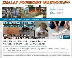 dallas flooring warehouse unveils exciting financing on floors