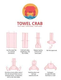 18 best towel origami images on pinterest towel origami napkin