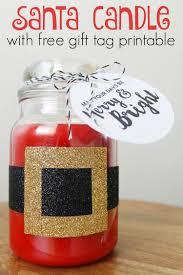 washi tape santa candle u0026 free printable gift tags child at