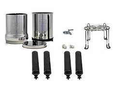 Berkey Water Filter Stand by Berkey Black Water Filter
