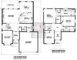 Custom House Blueprints 28 Two Floor House Plans Canadian Home Designs Custom House Within