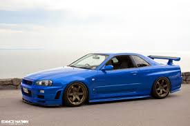nissan r34 paul walker history of the skyline