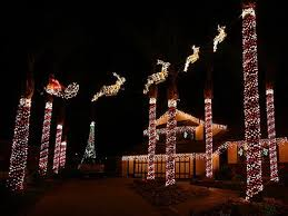 genial outdoor lit decorations template collection with big