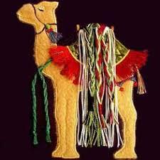 camel ornament decoration christmas stocking ideas pinterest
