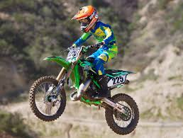 how to race motocross motocross action magazine we ride bud racing u0027s kawasaki kx112