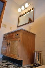 a first foray into cabinet painting full bath vanity guinness