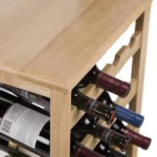 floor standing wine racks hayneedle