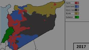 Syria Conflict Map by Civil War In Syria Alternative Future Youtube