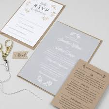 perfect day wedding invitation by pear paper co