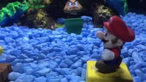 epic mario fish tank aquarium