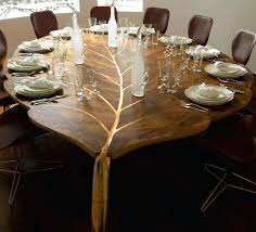 unique wood dining room tables unique wooden dining tables that will leave you astonished wooden