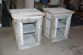 awesome picture of rustic nightstands western rustic nightstands