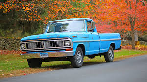 Vintage Ford Truck Specs - ford f 100 pickup truck 1970 review youtube