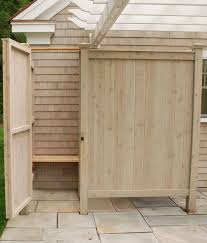 How To Build An Outdoor Shower Enclosure - best 25 outdoor shower kits ideas on pinterest pool shower