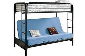 Futon Bunk Bed Frame Only Bunk Beds Furniture Guys