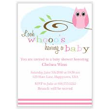 printable owl baby shower invitations free baby shower decoration