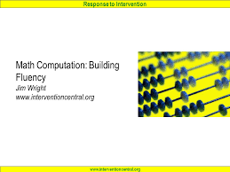 math skills an introduction jim wright ppt download