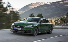 2018 audi rs 5 two less cylinders two more turbos review