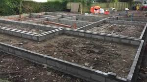 building a house part 1 self build house construction block and