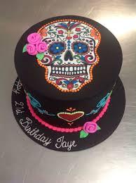 halloween cake fondant day of the dead skull halloween theme cake cakecentral com
