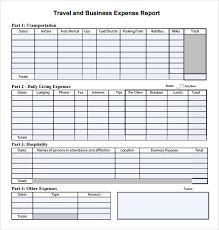 sample of expense report templates memberpro co