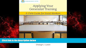 free download applying your generalist training sw 444 field