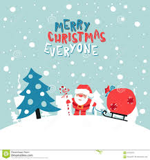 merry everyone illustration stock vector image 63155203