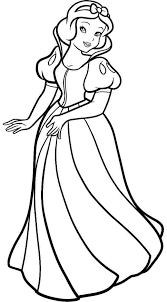 disney princess snow white coloring pages getcoloringpages
