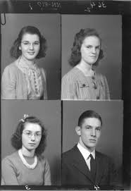 find high school yearbook pictures file mcguffey high school yearbook portraits 1940 3192717574 jpg