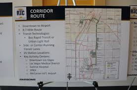 Unlv Map Light Rail To Line Maryland Parkway But Not Without Concerns