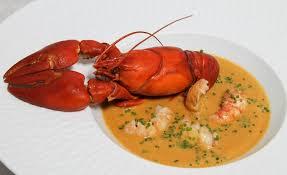 cuisiner des ecrevisses de soupe crémeuse d écrevisses à la ciboulette par alain ducasse