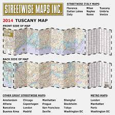 Map Of Tuscany Italy Streetwise Tuscany Map Laminated Road Map Of Tuscany Italy