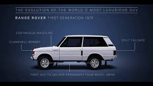 1970 land rover the history of the evolution of