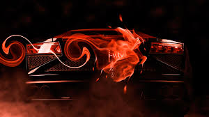 Lamborghini Gallardo Back - lamborghini gallardo back fire abstract effects car 2015 ino vision
