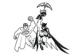 Coloring Pages Batman Batman And Superman Coloring Pages For Print Superman Coloring Pages Print