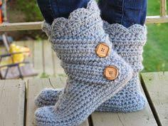 womens slipper boots size 12 crochet slipper boots with leather soles for and