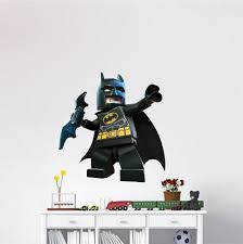 lego batman wall decal superhero wall design knight