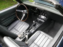 corvette dashboard 1968 chevrolet corvette stingray conversivel interior and