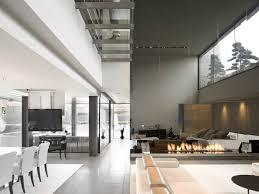 interior innovative the open box house design by a cero